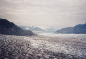 Photograph of Columbia Glacier in August 2002