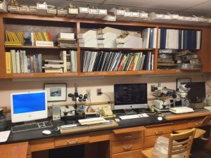 Original Tree Ring Lab in Scovel Hall
