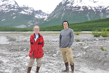 Glacier Bay 2011 - Sarah Appleton '11 and Joe Wilch